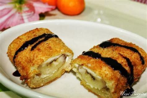 membuat risoles tanpa tepung panir 7 resep camilan enak dari bahan sesimpel pisang bikinnya