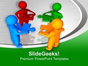 Animation Softwares Teamwork Presentations Free Teamwork Powerpoint Template