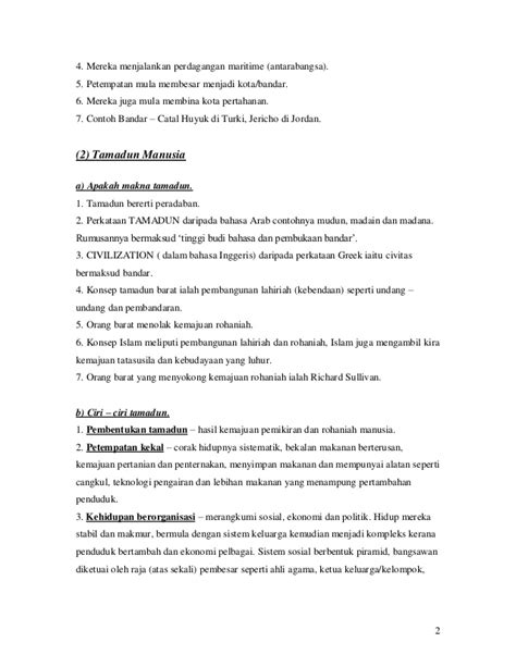 Pemikiran Magis nota sejarah tingkatan 4