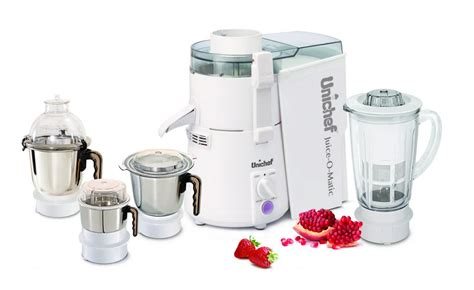 Multifunction Juicer Plus all in one juicer mixer grinder blender unichef
