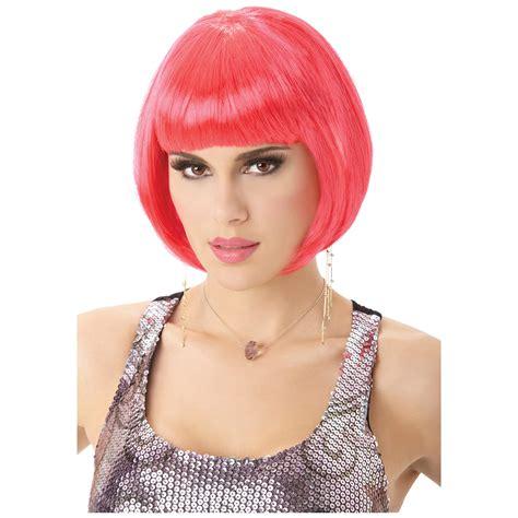 Termurah Wig Bob Pink Wig wig pink bob