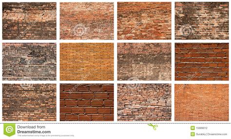 Wood Floor Protection set of brick wall stock photography image 15689012