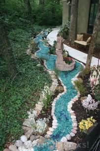 recycled glass landscape recycled rocks glass