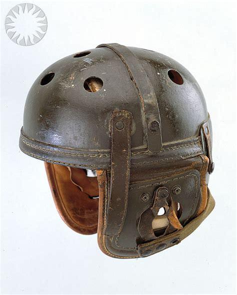 football helmet design history 12 helmets from the dark ages of football helmets