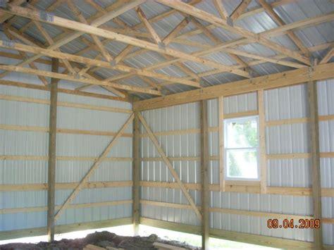 benefits  pole barns  stick built steel frame