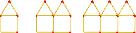 nth term triangular pattern matchstick patterns