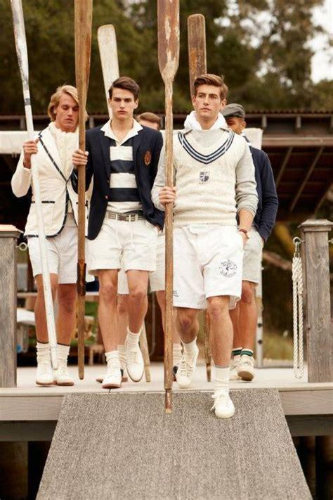 modern preppy style for men new england men s white with navy nautical fashion
