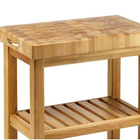 carrelli da cucina carrello da cucina in legno massello 60x50xh85 cm con