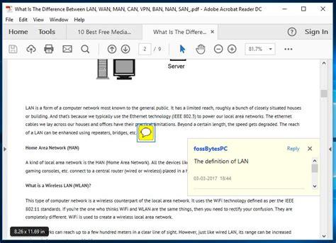 best pdf reader software 10 best free pdf reader software for windows 2018 edition