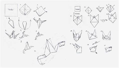 Origami Dragonfly Step By Step - how to make origami dragonfly