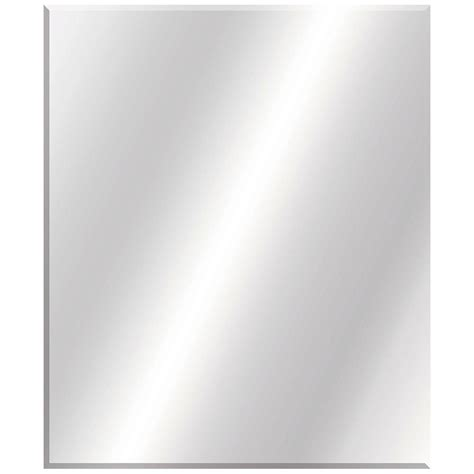 36 x 30 mirror for bathroom glacier bay 30 in w x 36 in l beveled edge bath mirror