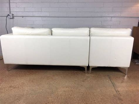 American Leather Sofa Sale Design Within Reach Sofa By American Leather Company For Sale At 1stdibs