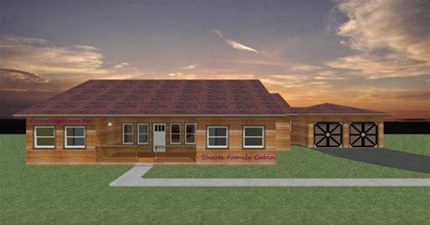 Lake Shasta Cabins by Modular Homes Shasta Family Cabin
