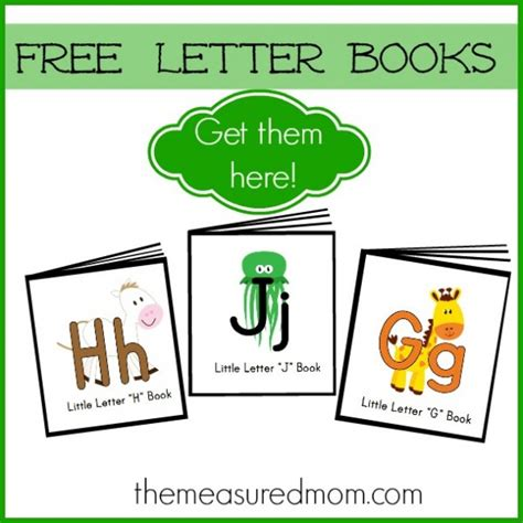 printable alphabet mini books preschool free letter books mom printable letters and preschool