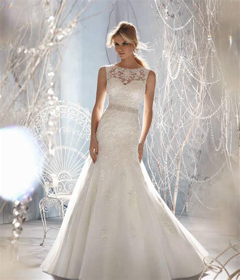 imagenes de vestidos de novia con escote en la espalda como elegir el escote del vestido de novia novias ec