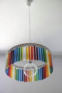 decorative craft ideas for home glass tube chandelier maria unique home lighting for art