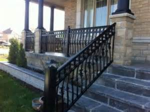Aluminum Handrails Bionic Aluminum Railing Amp Fence Inc 72 Devon Rd