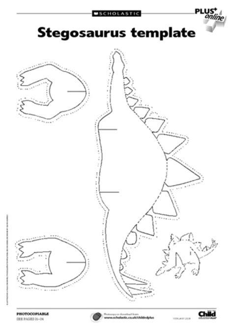 printable dinosaur skeleton template stegosaurus printable and triceratops skeleton printable