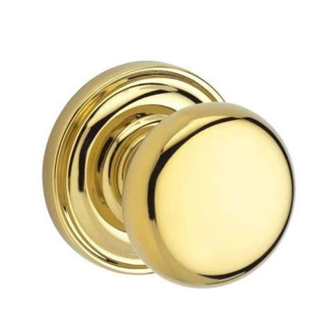 baldwin reserve lifetime polished brass privacy knob