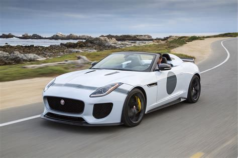 F Type Project 7 by Jaguar F Type Project 7 Rolls Into Pebble With