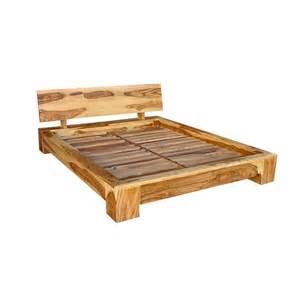 base lit en bois mzaol