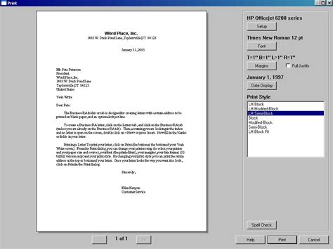 Business Letter Format Hanging Indent how to type a simplified letter format search results