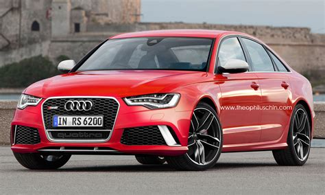 Audi Rs6 Coupe by 2014 Audi Rs6 Sedan Rendered Autoevolution