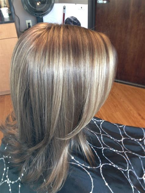 blonde highlights on brown hair brown hair with highlights and lowlights back to post