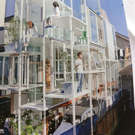 House See Through by See Through House By Fujimoto Rooms Pinterest