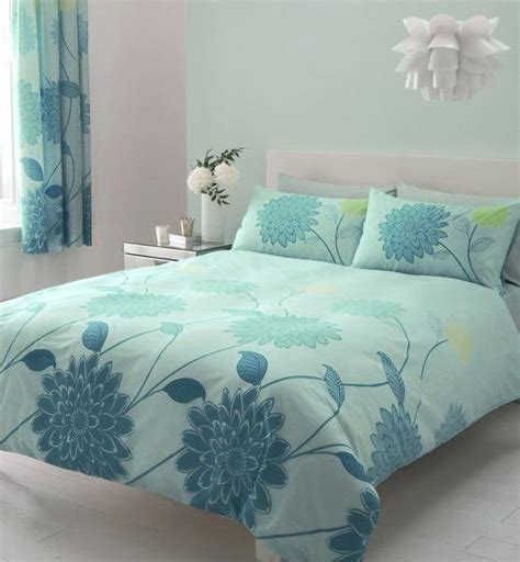 Comforter Set With Matching Curtains Teal Amp Lime Bedding King Size Duvet Quilt Cover Bed Set Ebay