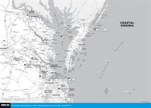 coastal map map of coastal virginia