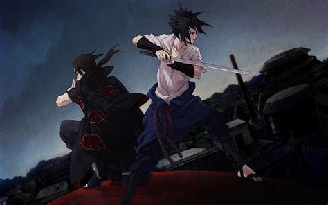 Kaos 3d Walking Dead Dewasa sasuke and itachi wallpaper