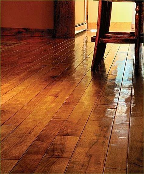 Scraped Wide Plank Wood Floor For Rustic Homes Wide Plank Scraped