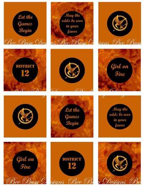 Printable Hunger Games | 7 best images of hunger games printables hunger games