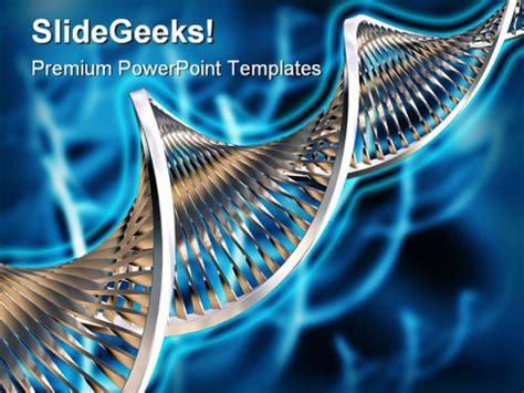 Dna Medical Powerpoint Template 0610 Dna Powerpoint Templates