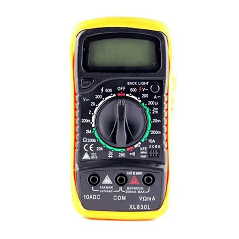 Multimeter Malaysia new digital multimeter xl830l volt meter ammeter ohmmeter