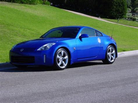 Blue Nissan 350z by Blue Z 2006 Nissan 350z Specs Photos Modification Info