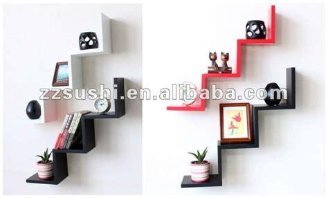 w shaped mdf wall shelf w shaped floating wall shelf