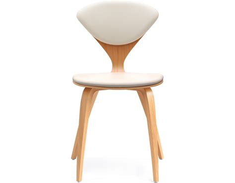 Cherner Side Chair With Upholstered Seat Back