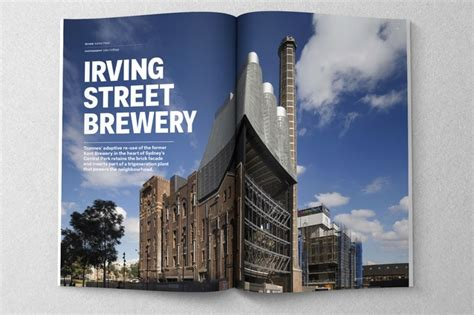 north abbey brewing company cox associates architects irving street brewery by tzannes