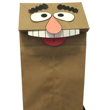 Paper Bag Puppet - muppet most wanted paper bag puppet disney family