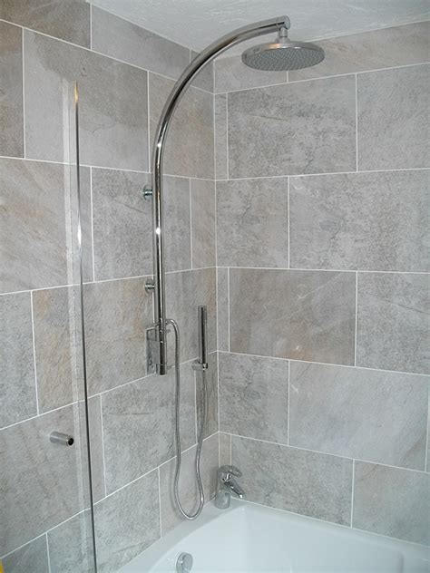 Shower Over The Bath new bathroom fitted in redditch photos of completed