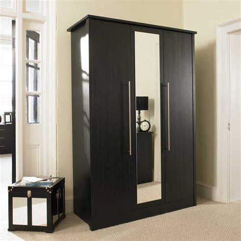 small wardrobe armoire luxury bedroom with black wardrobe with mirror doors top
