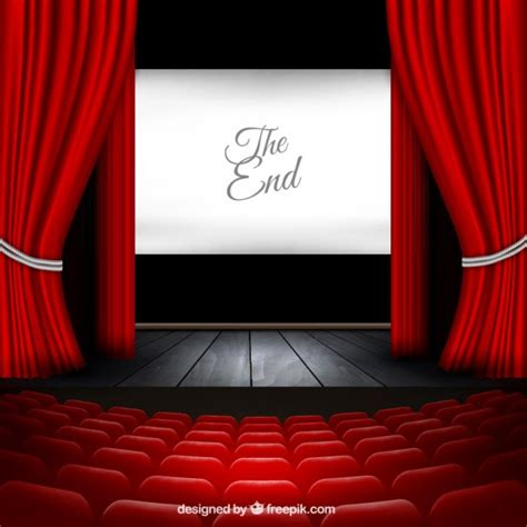 theater stage vector free download