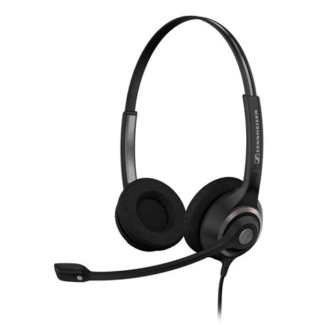 Headset Telepon sennheiser sc 260 corded telephone headset