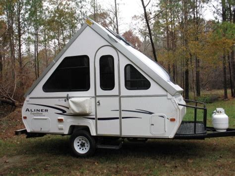 Camper Trailer Awnings Our Little Aliner Camper Tinycamper S Blog