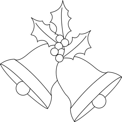 coloring pages of christmas bells christmas bells coloring pages
