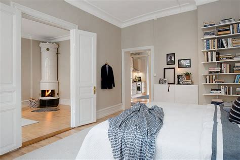 white and grey wall colors for scandinavian living room bright scandinavian apartment with cream walls and two