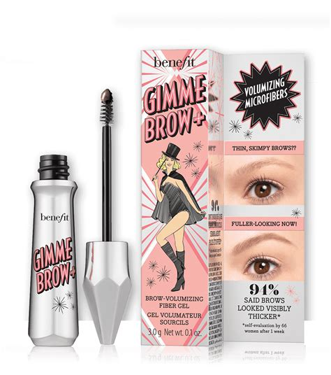 Benefit Gimme Brow 01 Sle Size gimme brow volumizing eyebrow gel benefit cosmetics