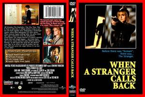 When A Stranger Calls Back by When A Stranger Calls Back Movie Dvd Custom Covers